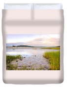 Summer Sunrise At Little Neck Duvet Cover
