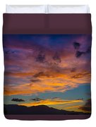 Summer Sunset Colorado Duvet Cover