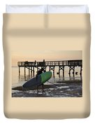 Summer Surfer Duvet Cover
