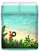 Summer Swim Duvet Cover