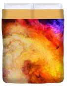Summer Swirl Duvet Cover by Pixel Chimp
