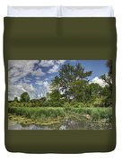 Summer Time At Moraine View State Park Duvet Cover