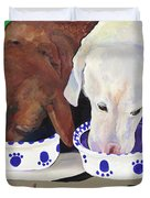 Summer Wag Ale Duvet Cover by Pat Saunders-White