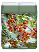 Summer Wild Berries Duvet Cover