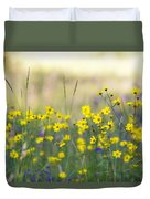 Summer Wildflowers On The Rim  Duvet Cover