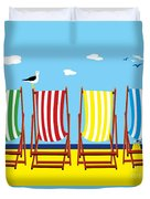 Summers Comin Duvet Cover