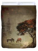 Summers End Duvet Cover by Terry Fleckney