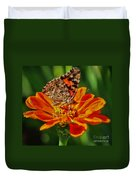 Summers Last Butterfly Duvet Cover