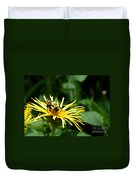 Summertime Bee Duvet Cover
