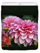 Summertime Blossoms Duvet Cover