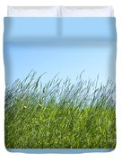 Summertime Grass Duvet Cover