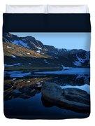 Summit Lake Calm Duvet Cover