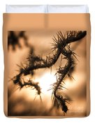 Sun And Frost Duvet Cover