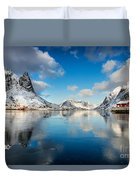 Sun And Ice Reinefjord Duvet Cover