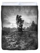 Sun Behind The Tree Duvet Cover
