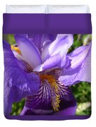Sun Dance Iris Duvet Cover