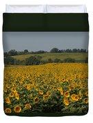 Sun Flower Sea Duvet Cover