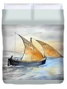 Sun In The Sails  Duvet Cover