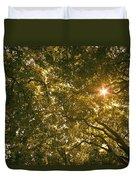 Sun In The Trees Duvet Cover