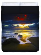 Sun Is Setting Duvet Cover