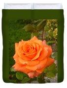 Sun Kiss Orange Duvet Cover
