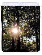 Sun Kissed Trees Duvet Cover