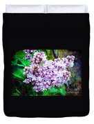 Sun Lit Lilac The Sweet Sign Of Spring Duvet Cover