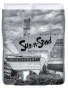 Sun-n-sand Motor Hotel II Duvet Cover
