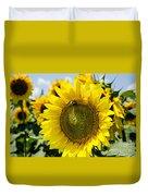 Sun On The Sunflower Duvet Cover