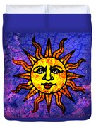 Sun Salutation Duvet Cover