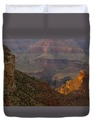 Sun Shining On The Canyons Duvet Cover