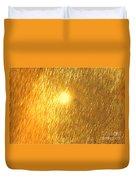 Sun Spot Abstrasct Duvet Cover