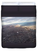 Sun Stained City Duvet Cover