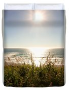 Sun Star At The Beach Duvet Cover