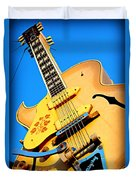 Sun Studio Guitar Duvet Cover