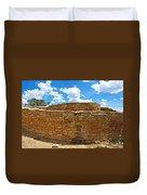 Sun Temple-1250 Ad In Mesa Verde National Park-colorado Duvet Cover
