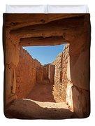 Sun Temple Mesa Verde National Park Duvet Cover