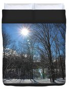 Sun Though The Trees  Duvet Cover