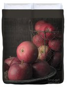 Sun Warmed Apples Still Life Standard Sizes Duvet Cover