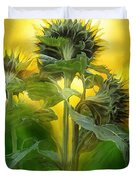 Sun Worshipers Duvet Cover