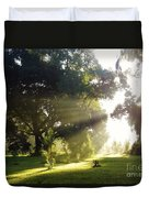 Sunbeam Landscape Duvet Cover