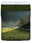 Sunbeams And Mist - Wolfscote Dale Duvet Cover