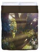 Sunbeams In The Tree Duvet Cover