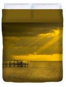Sunbeams Of Hope Duvet Cover