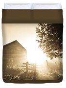 Sunburst On The Farm Duvet Cover