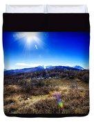 Sundance Aspen Loop-moutain Ranges V2 Duvet Cover