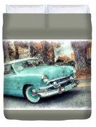 Sunday Drive Duvet Cover