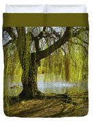 Sunday In The Park Duvet Cover