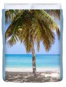 Sunday Palm Duvet Cover