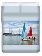 Sunday Sailing 2 Duvet Cover